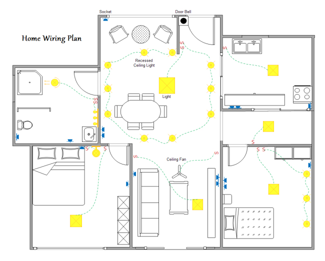 home-wiring-plan